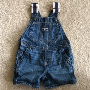 OshKosh B'gosh denim overalls